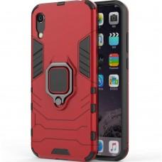 Бронь-чехол Ring Armor Case Samsung Galaxy A30s / A50 / A50s (2019) (Красный)