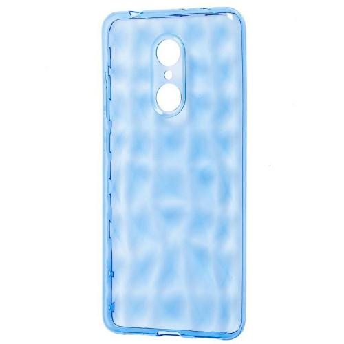 Силиконовый чехол Prism Case Xiaomi Redmi 5 Plus (синий)