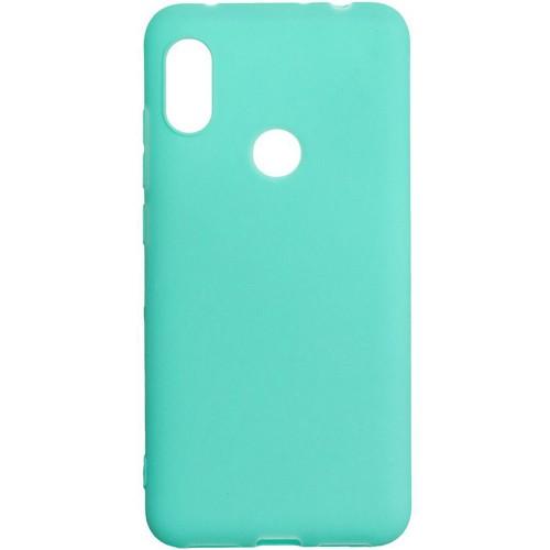 Силиконовый чехол iNavi Color Xiaomi Redmi 6 Pro / Mi A2 Lite (Бирюзовый)
