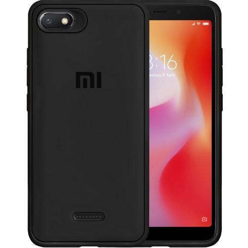 Силиконовый чехол Junket Case Xiaomi Redmi 6a (Чёрный)