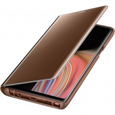 Чехол Original Clear View Standing Cover Samsung Galaxy Note 9 (Brown)