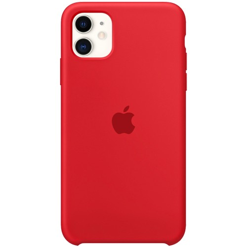 Силиконовый чехол Original Case Apple iPhone 11 (05) Product RED