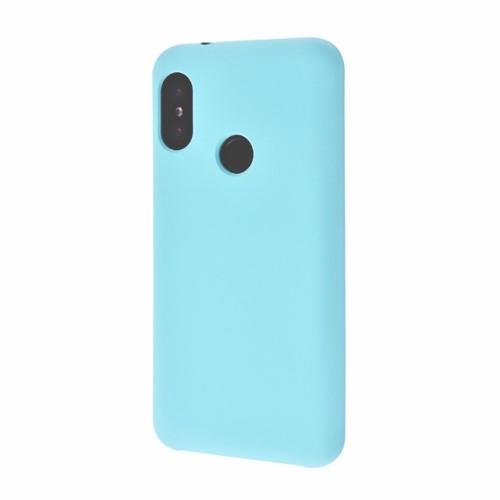 Силиконовый чехол Multicolor Xiaomi Redmi Note 6 / Note 6 Pro (бирюзовый)