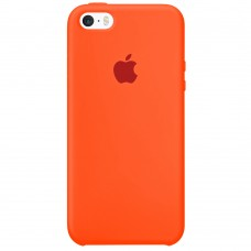 Силикон Original Case Apple iPhone 5 / 5S / SE (18) Orange