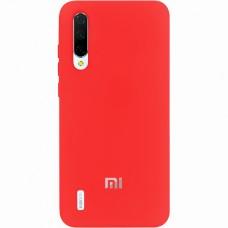 Силикон Original Case (HQ) Xiaomi Mi9 Lite / Mi CC9 (Красный)