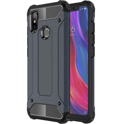 Чехол Armor Case Xiaomi Redmi 6 Pro / Mi A2 Lite (тёмно-синий)