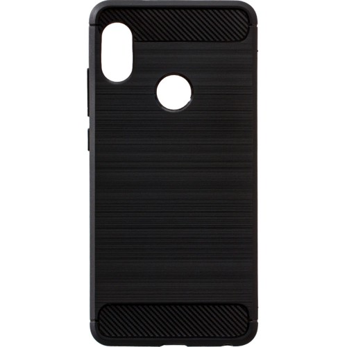 Силикон Polished Carbon Xiaomi Redmi S2 (Черный)