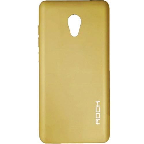 Силиконовый чехол Rock Matte Meizu M5 Note (Gold)