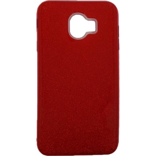 Силиконовый чехол Glitter Samsung Galaxy A5 (2017) A520 (Красный)