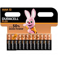 Батарейка Duracell Alcaline BLI12 AAA Alkaline LR3