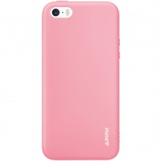 Силикон iNavi Color Apple iPhone 5 / 5s / SE (розовый)
