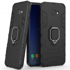 Бронь-чехол Ring Armor Case Samsung Galaxy J4 Plus (2018) J415 (Чёрный)