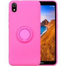 Чехол Ring Silicone Case Xiaomi Redmi 7A (Розовый)