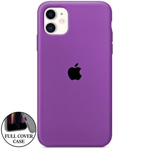 Силикон Original Round Case Apple iPhone 11 (28)