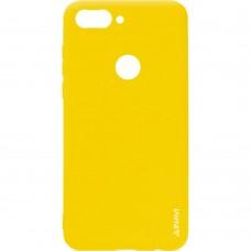 Силикон iNavi Color Huawei P Smart (желтый)