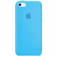 Силикон Original Case Apple iPhone 5 / 5S / SE (20) Blue