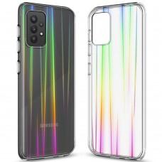 Силикон 3D Gradient Case Samsung Galaxy A52 (2021) (Прозрачный)