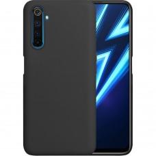 Силикон iNavi Color Realme 6 Pro (Чёрный)
