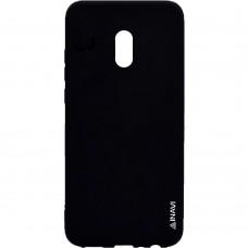 Силикон iNavi Color Meizu M15 Lite (Чёрный)