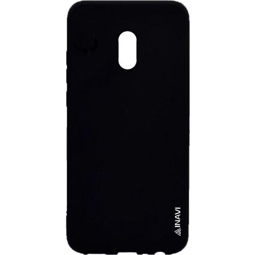 Силиконовый чехол iNavi Color Meizu M15 Lite (Чёрный)