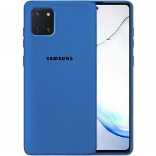 Силикон Original Case Samsung Galaxy Note 10 Lite (Кобальт)