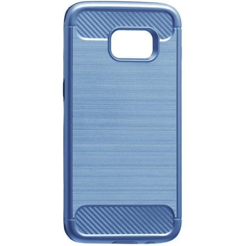 Бампер Motomo X6 Samsung S7 Edge (синий)