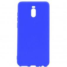 Силиконовый чехол Cafele Meizu M6 Note (синий)