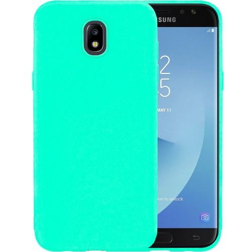 Силикон iNavi Color Samsung Galaxy J7 (2017) J730 (Бирюзовый)