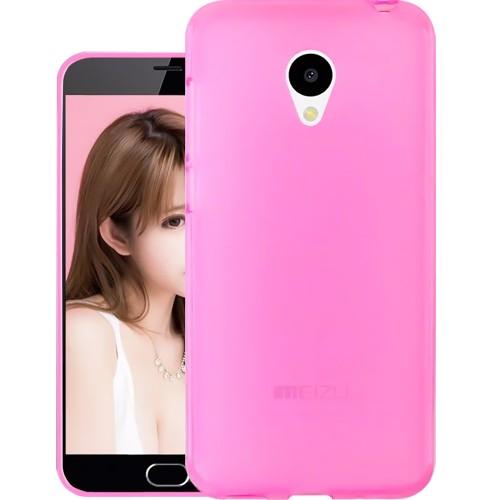 Силиконовый чехол Original Meizu M5c (Pink)
