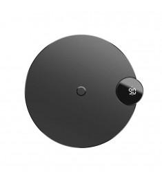 Беспроводное зарядное устройство Baseus WXSX Digtal LED Display (Чёрный)