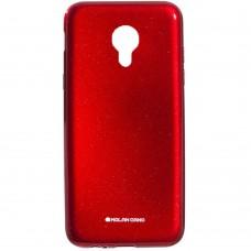 Силиконовый чехол Molan Shining Meizu M3 (Красный)