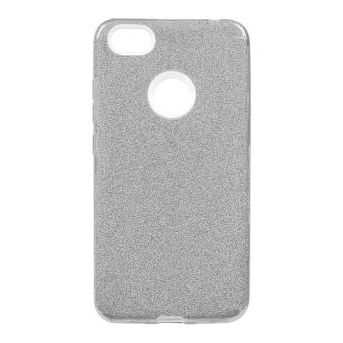 Силиконовый чехол Glitter Xiaomi Mi5x / A1 (серебрянный)