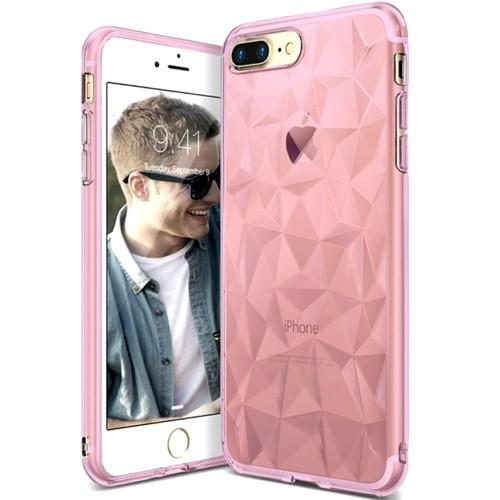 Силиконовый чехол Prism Case Apple iPhone 7 Plus / 8 Plus (розовый)