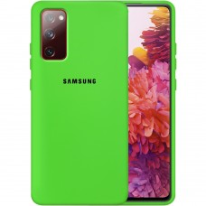 Силикон Original Case Samsung Galaxy S20 FE (Салатовый)