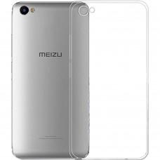 Силиконовый чехол WS Meizu U10 (прозрачный)