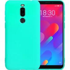 Силиконовый чехол iNavi Color Meizu M8 (Бирюзовый)