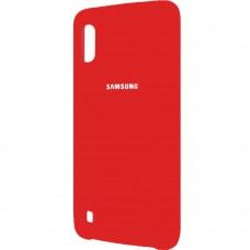 Силиконовый чехол Original Case Samsung Galaxy M10 (Красный)