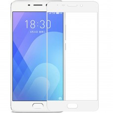 Стекло 5D Meizu M6 Note White