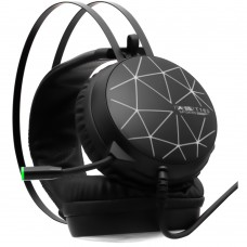 Наушники-гарнитура для компьютера Spiders T16S USB 7.1 Colorfull Light (Чёрный)