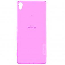 Силикон Nillkin Nature Sony Xperia Z5 E6633 (розовый)
