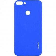 Силиконовый чехол iNavi Color Huawei Nova 2 (темно-синий)