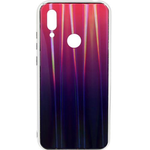Накладка Gradient Glass Case Xiaomi Redmi Note 7 (Фиолетовый)
