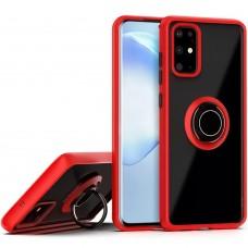Накладка Totu Ring Armor Case Samsung Galaxy S20 Plus (2020) (Красный)