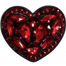 Холдер Popsocket Diamond Heart (Красный)