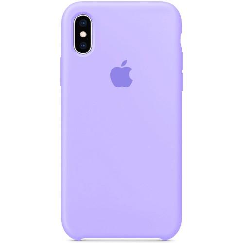 Силиконовый чехол Original Case Apple iPhone X / XS (43) Glycine
