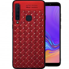 Накладка Netting Diamond Samsung Galaxy A9 (2019) A920 (Красный)