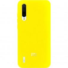 Силикон Original Case (HQ) Xiaomi Mi9 Lite / Mi CC9 (Желтый)