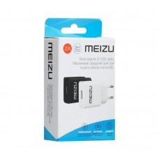 СЗУ-адаптер Meizu YJ-06 2A + MicroUSB-кабель (Белый)
