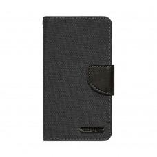 Чехол-книжка Goospery Canvas Diary Meizu  Pro 6 / Pro 6s (Чёрный)