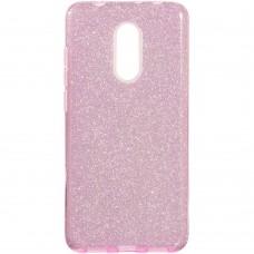 Силикон Glitter Xiaomi Redmi 5 (розовый)